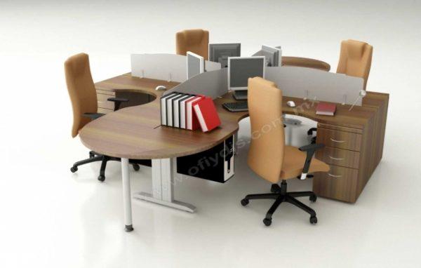 area de trabajo ejecutiva para oficinas