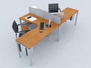 escritorios dobles para oficina