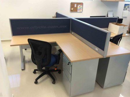 isla de trabajo de oficina