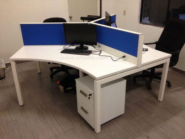isla de trabajo para oficina