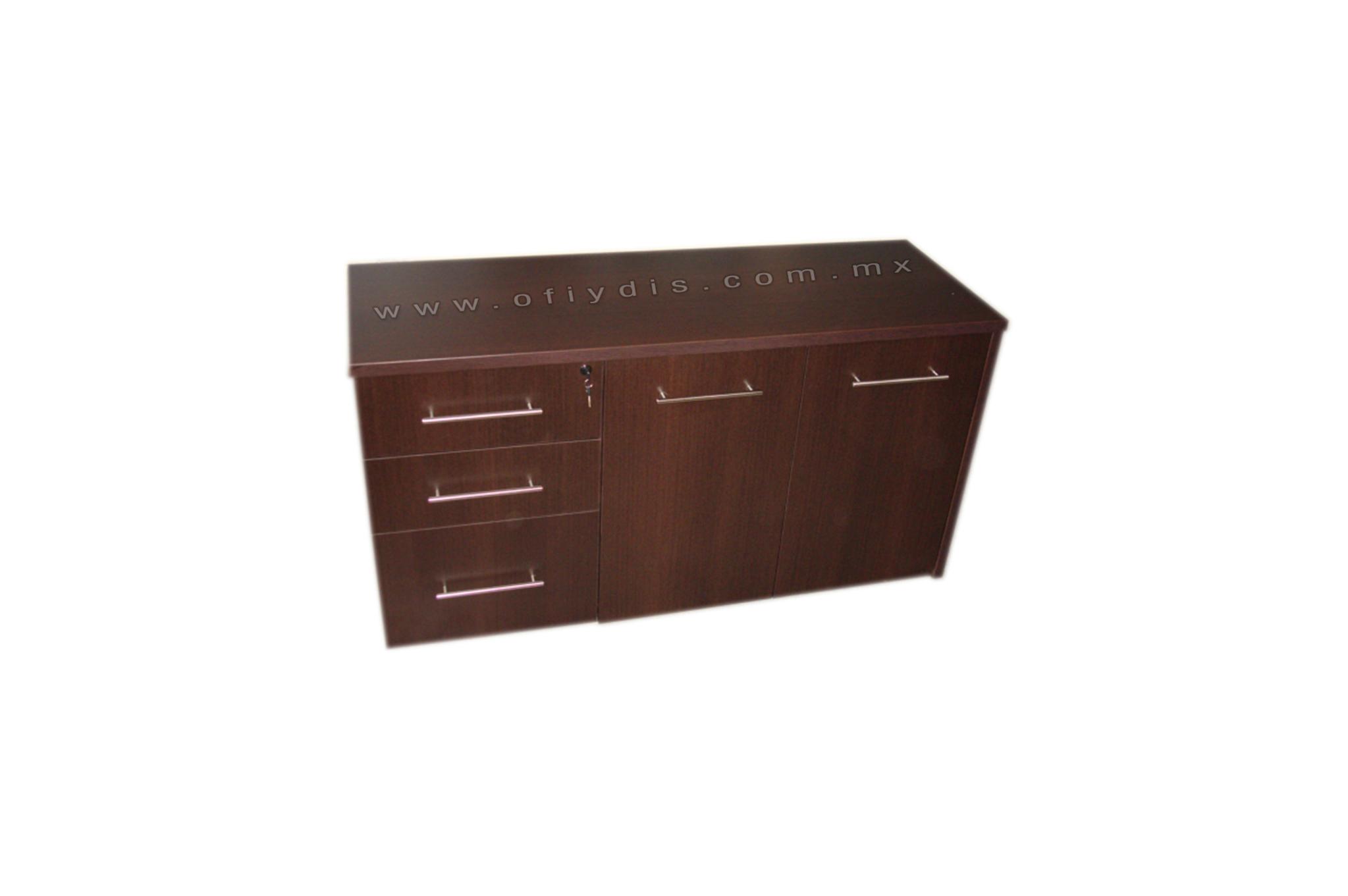 Credenza Con Puertas : Credenza de 2 pedestales y puertas ofiydis muebles para oficina