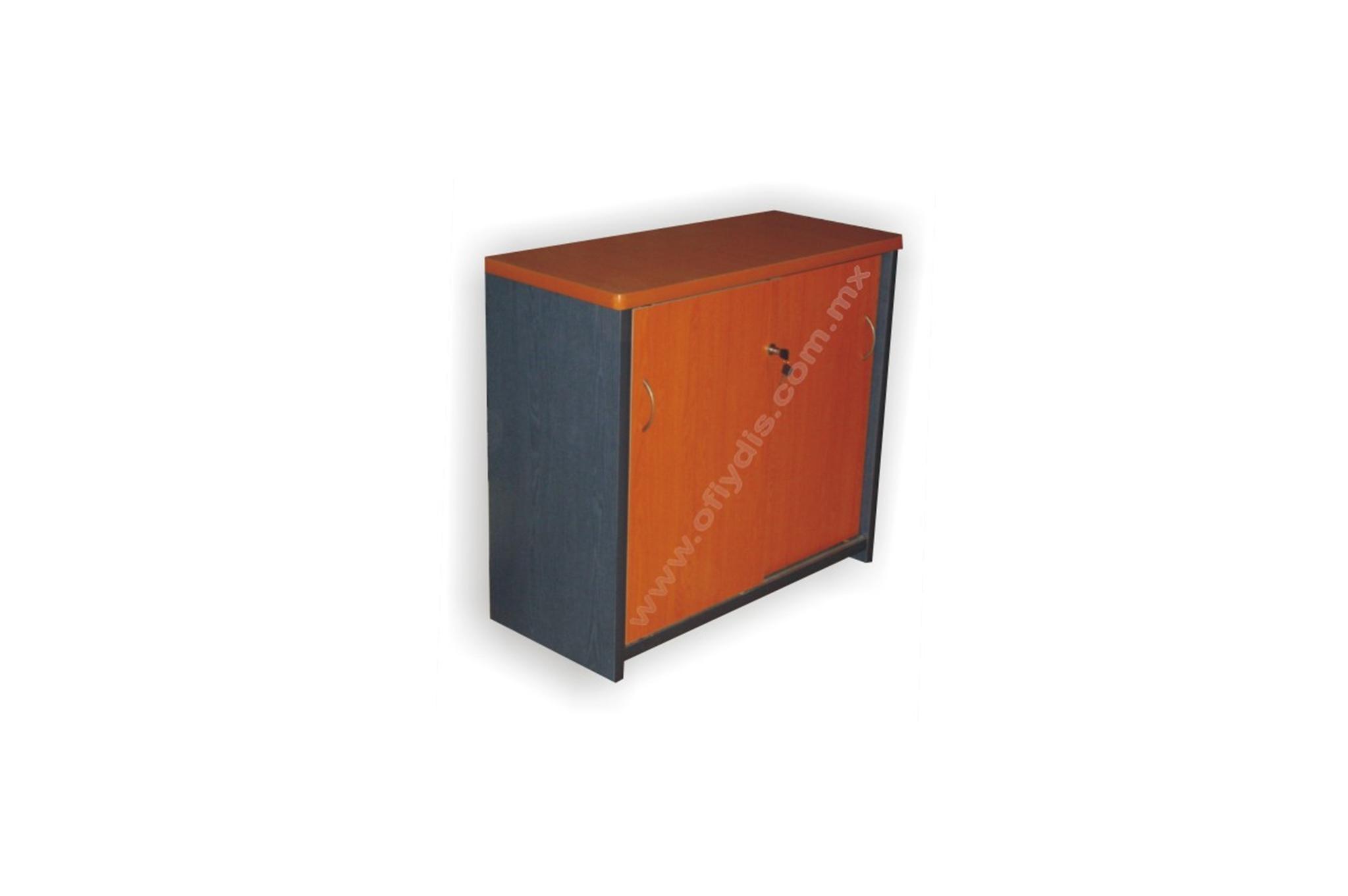 Credenza Con Dos Puertas Corredizas : Credenza con puertas ofiydis muebles para oficina