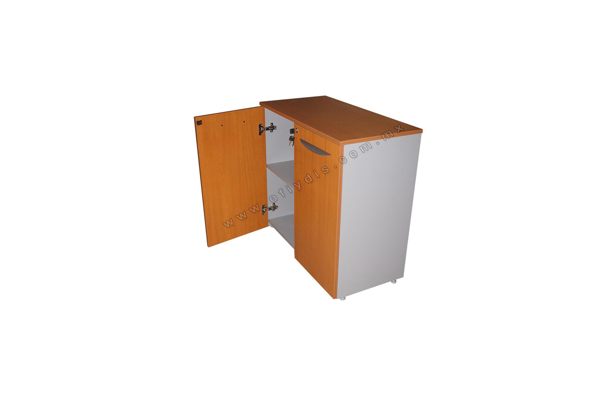 Credenza Con Dos Puertas Corredizas : Credenza espacios ofiydis muebles para oficina