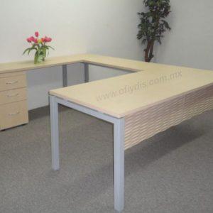 escritorio semi ejecutivo de oficina