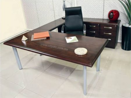 escritorio ejecutivo para oficina en madera