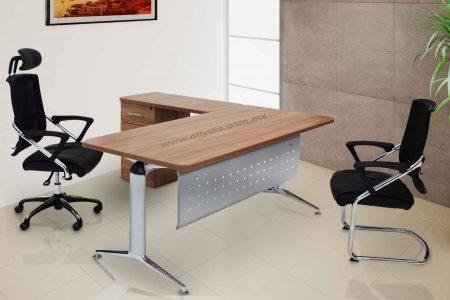 escritorio secretarial para oficina