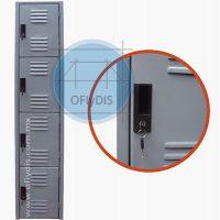 locker metalico con cerradura ofiydis