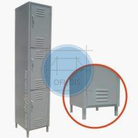 locker metalico con patas ofiydis