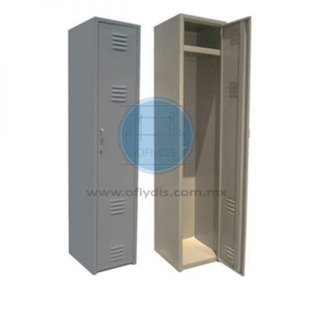 locker metalico troquelado 1 puerta