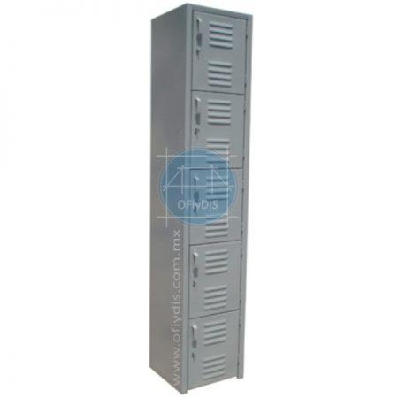 locker de 5 puertas troquelado ofiydis