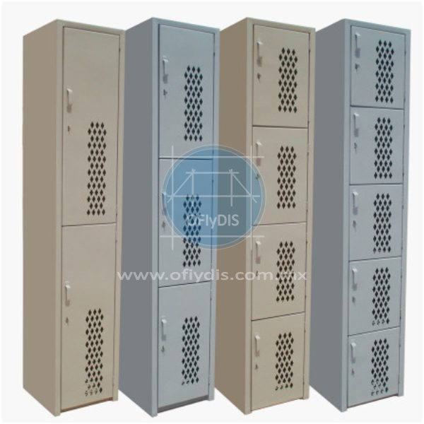 locker puerta diamante ofiydis