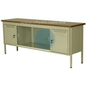 credenza-metalica-oficina-150cm-2-puertas