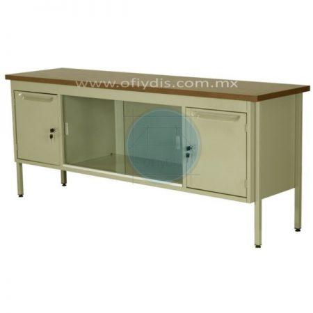 credenza-metalica-oficina-180cm-2-puertas