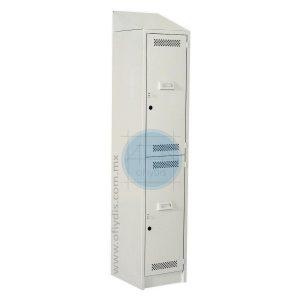 locker con copete 2 puertas LC-3192-ofiydis