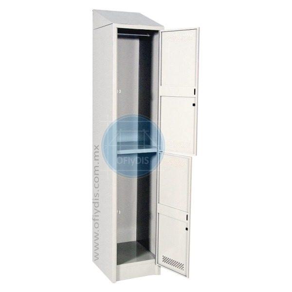 locker con copete 2 puertas LC-3192-a-ofiydis