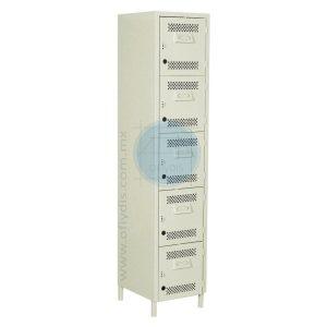 locker con patas 5 puertas LP-3175-ofiydis