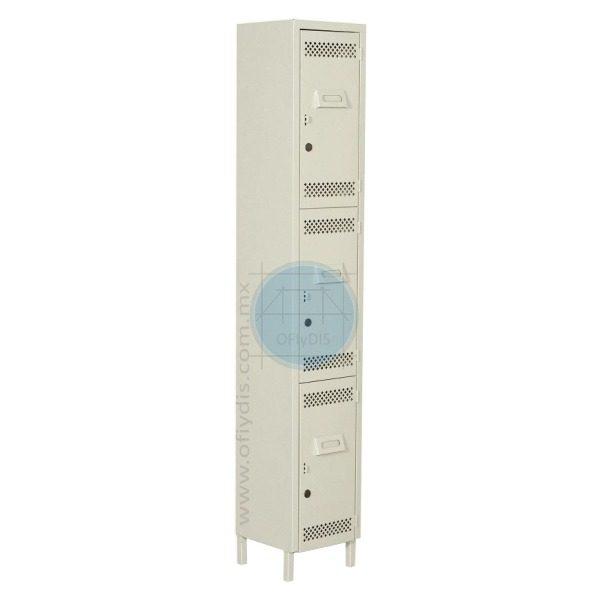 locker con patas 3 puertas LP-3178-ofiydis