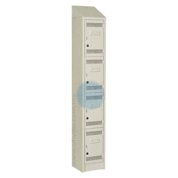 locker con copete 4 puertas LC-3199-ofiydis