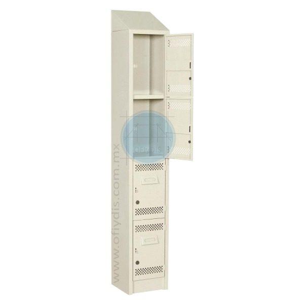 locker con copete 4 puertas LC-3199-in-ofiydis