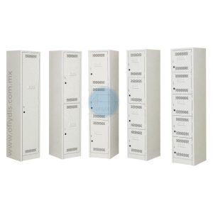 lockers estandar 1, 2, 3, 4, 5 puertas-ofiydis