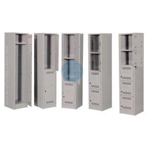 lockers estandar 1, 2, 3, 4, 5 puertas-a-ofiydis-economico