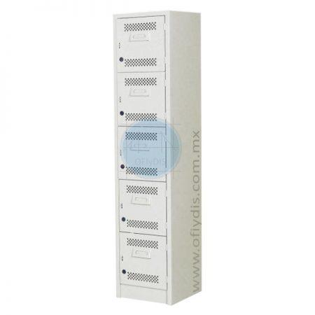 locker estandar 5 puertas L-3105-ofiydis