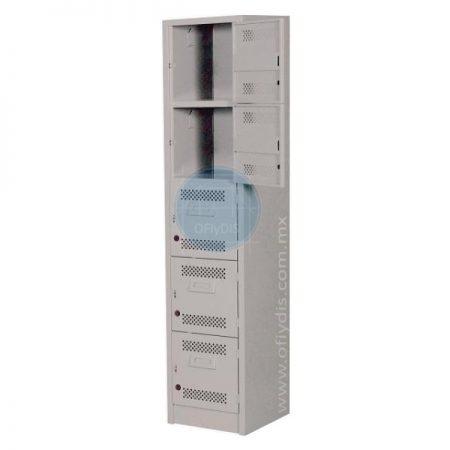 locker estandar 5 puertas L-3110-ofiydis