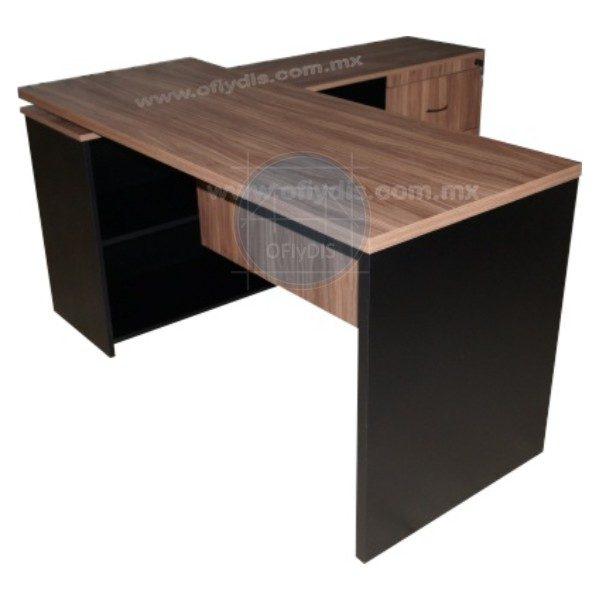 escritorio-secretarial-con-credenza-lateral