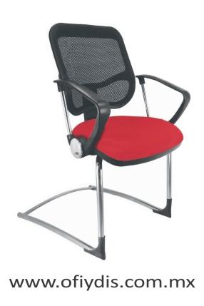 silla de visita base trineo para oficina E-22013-1 ofiydis