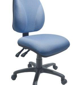 silla operativa para escritorio sin brazos E-23555-1