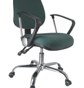silla operativa para escritorio base cromada E-13501