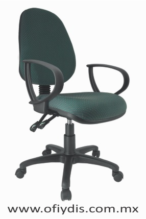 silla operativa para escritorio base negra E-13571