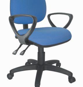 sillas secretarial con brazos 2 palancas E-21081 ofiydis