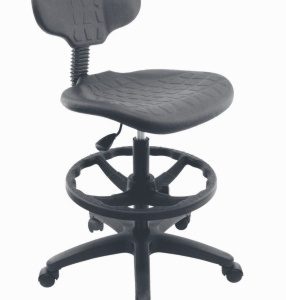 silla industrial cajera con respaldo E-28076 ofiydis