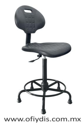silla industrial con respaldo base metalica E-28076-E08 ofiydis
