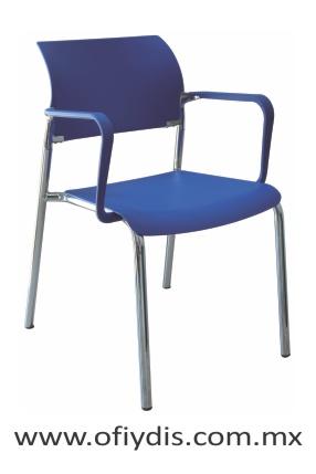 silla visita con brazos E-39521 ofiydis