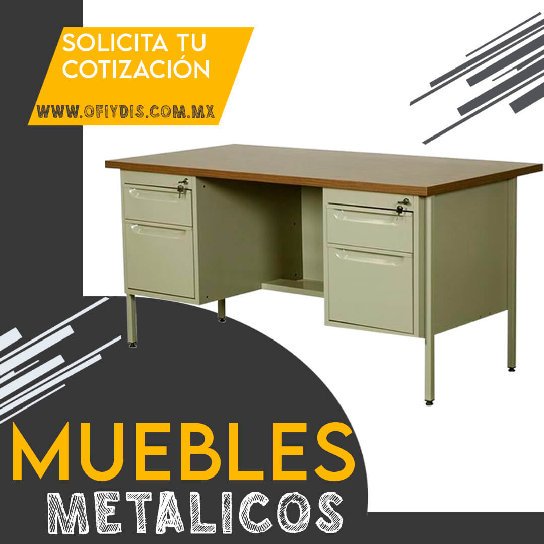 Muebles metalicos para oficia