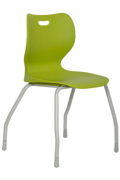 SILLA VISITA AB-100 verde