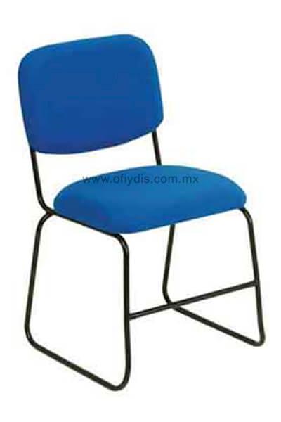 silla visita AB-900 azu pintada
