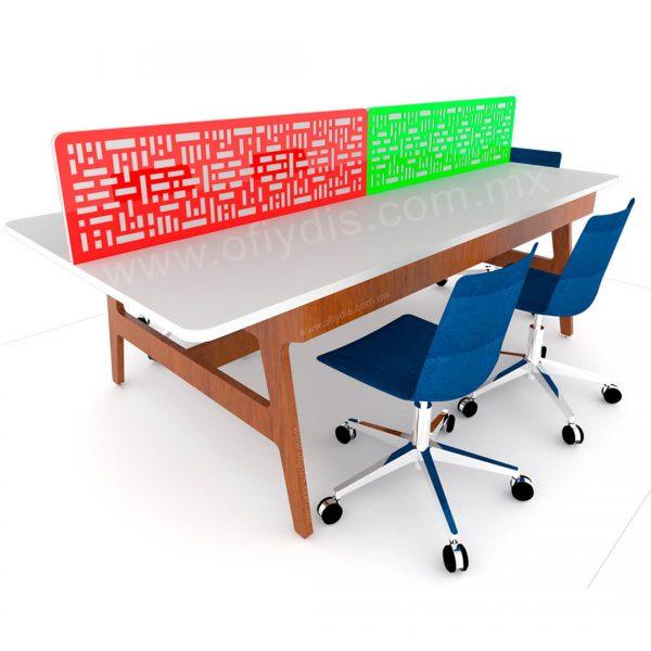 Mesa de trabajo de oficina