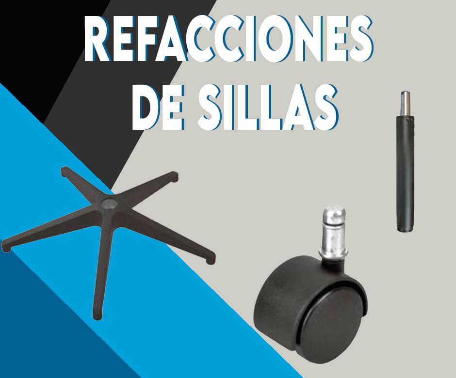 REFACCIONES PARA SILLAS DE OFICINA